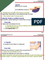 Mod 8 Bone, Joints, Muscle Injury