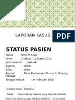 Laporan Kasus Hirschsprung Disease