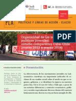 Organicidad Movimientos Juveniles Cuba-Chile(Marzo 2013 a Marzo 2014)
