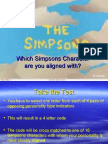 simpson  personality test