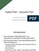 Hemant Chitale Simple ExplainPlan SG RACSIG 12Oct11