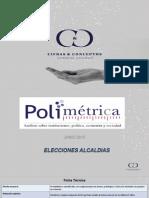 Polimetrica Junio 2015 Elecciones Alcaldías
