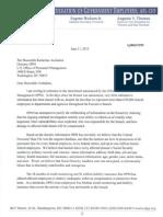Cox Letter