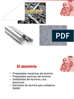 El Aluminio y Soldabilidad