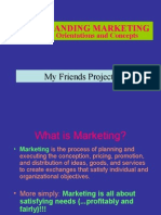 1 Marketing Intro....UNDERSTANDING MARKETING