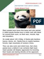 Contoh Report Text