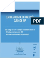Certificado ERP