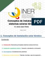 Conceptos Instalación Solar Térmica