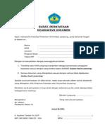 3.Surat Pernyataan Mhs Keabsahan Dokumen