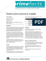 Garden Plants Poisonous to People
