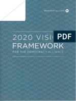 Democracy Alliance vision framework