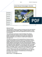 Industrial Ethernet Technologies