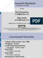 LiveJournal scaling
