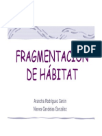 Fragmentacion de Habitat