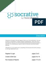 Socrat Ive User Guide