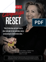 Hillary Clinton's Campaign Reset