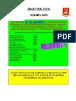 51 Preguntas Recopilacion Examen 2013 Guardia Civil