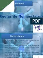 Química. Presentación de Nomenclatura