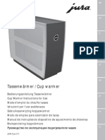 Jura Cup Warmer Manual