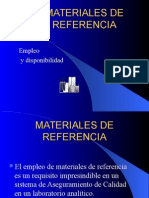 Materiales referencia