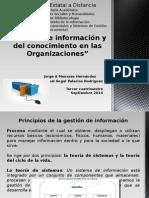 Gestión de Información y Del Conocimiento en Las Organizaciones