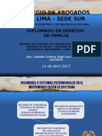 Regimen de Sociedad de Gananciales TEMA 5.ppt