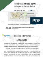 Tutorial de Myhistro.com línea del tiempo on line