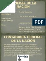 contaduria general de la nacion