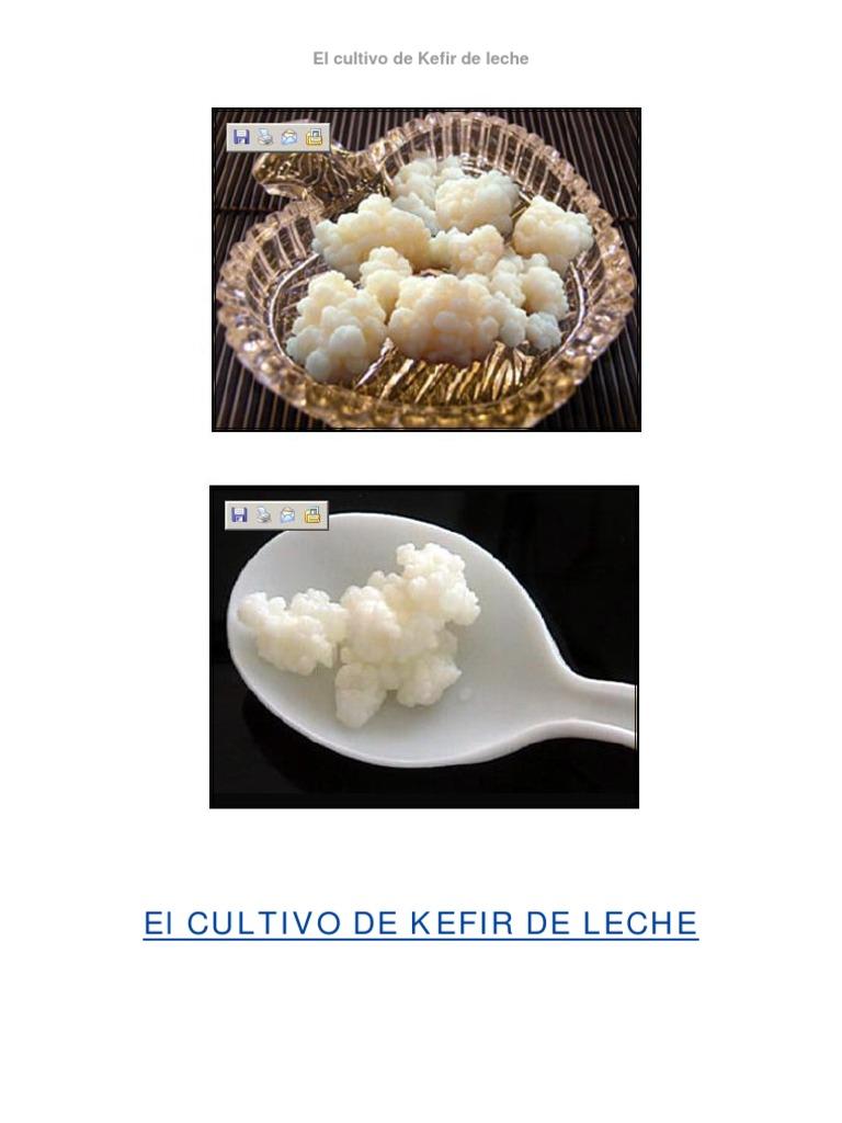 Kefir alcalinizante o acidificante