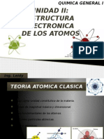 UNIDAD II estructura electronica de los atomos