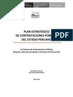 Plan Estratégico de Contrataciones Públicas Del Estado Peruano