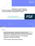 Best Practices in Intgr Loyalty Programs Into Cust Value Mgmt Strategy of Comm and Media Providers-Case Study-CME08