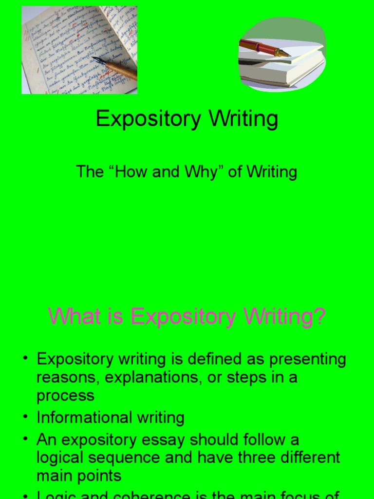 what is informative writing definition