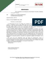 Marco de Planificación 2008- II Memo