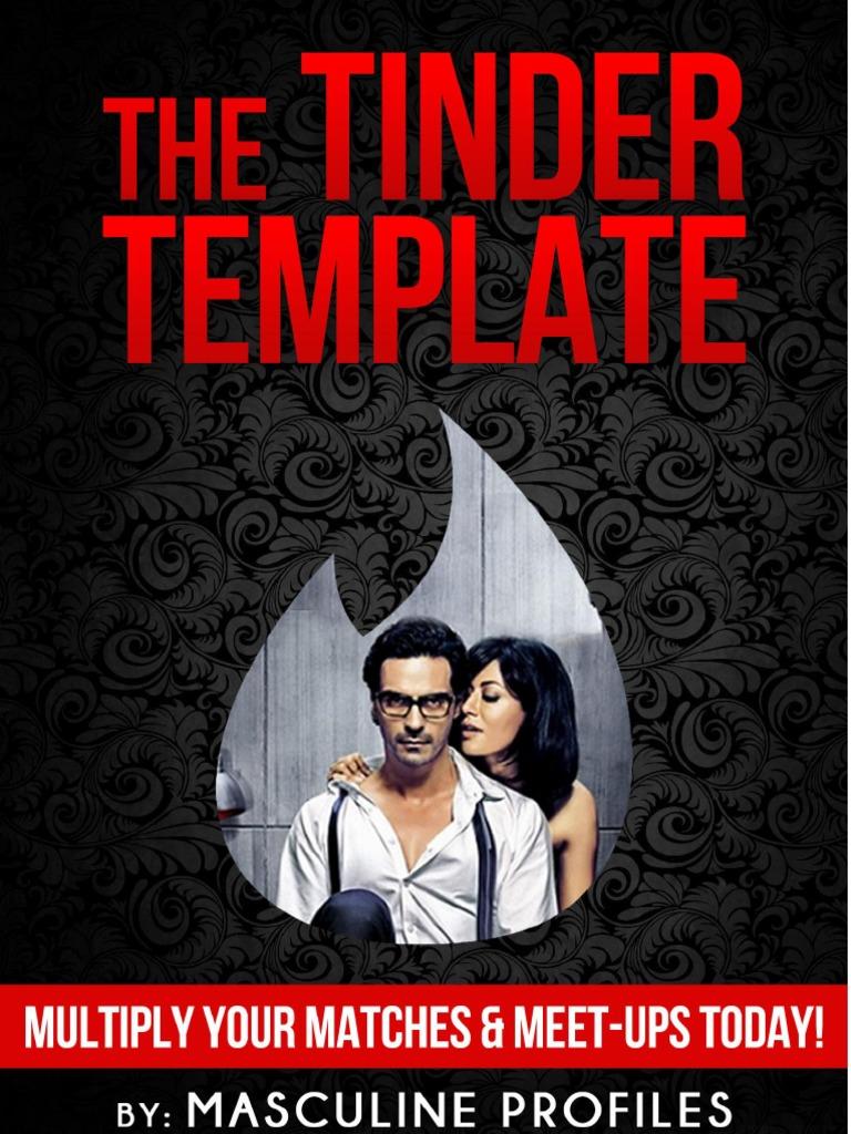 The Tinder Template | Tinder (App) | Agência de Namoro Online