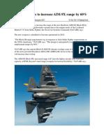 "AIM-9X ""Block III"""
