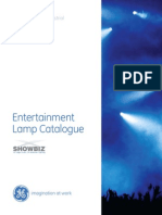 GE Stage-Studio Lighting Catalog