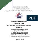 Código de Ética Del Contador.....