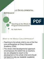 field pd presentation - teaching to the whole child through program enhancements