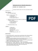 Praktikum Farmakologi Blok 1