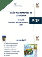 Unidad 6 Fundamentos de Economía MIB 2015