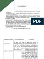 Protocolo de Investigación Etnográfica