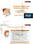 Programacurricular Inicial Integrado RUTAS - DNC
