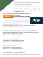 Jurnal Penyakit Jantung Koroner PDF