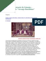 Altar e a Orientação Da Liturgia