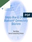 Cp3000 Bluetooth