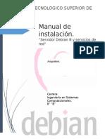 Manual Para La Instalación de Servicios en Servidor Debían 8 Scribd