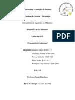 Informe 1 BioquÃ-mica de Alimentos