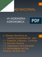 REALIDAD NACIONAL TEMA 1.1.Población, Pobreza y Conflictos