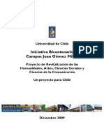 Documento Del Proyecto Bicentenario Jgm Con Indicadores y Desempenos Relevantes
